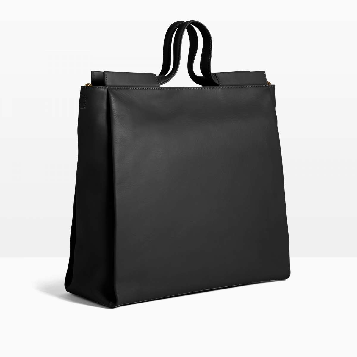 Pure 9, black, large shopper